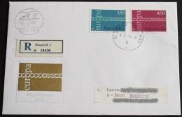 JUGOSLAWIEN 1971 Mi-Nr. 1416/17 CEPT FDC - Europa-CEPT