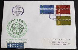 PORTUGAL 1971 Mi-Nr. 1127/29 CEPT FDC - Europa-CEPT