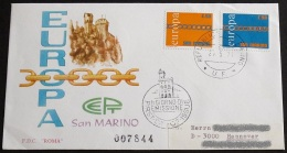 SAN MARINO 1971 Mi-Nr. 975/76 CEPT FDC - Europa-CEPT