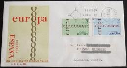 SPANIEN 1971 Mi-Nr. 1925/26 CEPT FDC - Europa-CEPT
