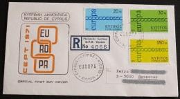 ZYPERN 1971 Mi-Nr. 359/61 CEPT FDC - Europa-CEPT