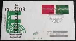DEUTSCHLAND 1971 Mi-Nr. 675/76 CEPT FDC - Europa-CEPT