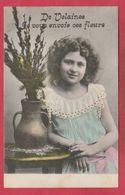 Velaines - Je Vous Envoie Ces Fleurs De ... - Jolie Carte Fantaisie - 1906  ( Voir Verso ) - Celles