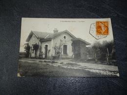 Cpa 36 Les Bordes La Gare - Autres Communes