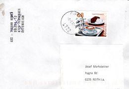 Brief Von 4722 Peuerbach Mit 68 Cent Kaffeehaus 2018 - 2011-... Briefe U. Dokumente
