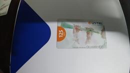 Angola-olumbendo-(22)-(125utt)-31.12.2008-used+1card Prepiad Free - Angola