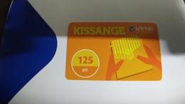 Angola-kissange-(28)-(125utt)-31.12.2017used+1card Prepiad Free - Angola