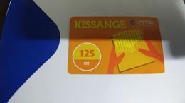 Angola-kissange-(29)-(125utt)-31.12.2018used+1card Prepiad Free - Angola