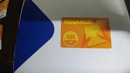 Angola-kissange-(30)-(125utt)-31.12.2018used+1card Prepiad Free - Angola