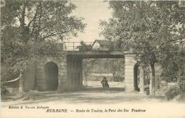 13 AUBAGNE. Route De Toulon Et Le Pont Des Six Fenêtres - Aubagne