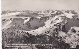 Ausblick Von Mühlhauserhöhe über Schwarzwand Gegen Hohe Tauern - Alpengasthof Grübl, Bundschuh (41350) * 31. XI. 1957 - Österreich