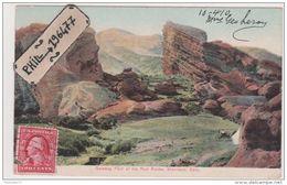 Colorado - Cpa / Gateway Park Of The Red Rocks, Morrison. - Etats-Unis