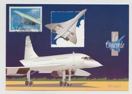 "France : Carte Maximum ""Le Concorde - Paris 2002"" - Cartas Máxima"