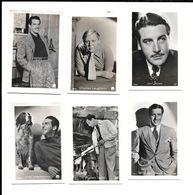 Y510 - IMAGES ANONYMES - ROBERT TAYLOR - JOHN BOLES - FRED MACMURRAY - CHARLES LAUGHTON - Photographs