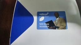 Angola-netkuya-(34)-(500kbps-2250utt)-mint+1card Prepiad Free - Angola