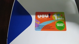 Angola-uau-(35)-(1.700akz-236utt)-mint+1card Prepiad Free - Angola