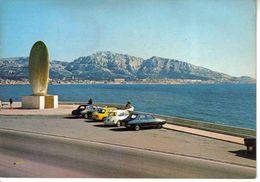 13 Marseille N°178 Monument Rapatriés Oeuvre De César Renault R12 R8 Peugeot 403 VW Käfer En 1987 - Monuments