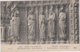 51  Reims  La Cathedrale Porche Central - Reims