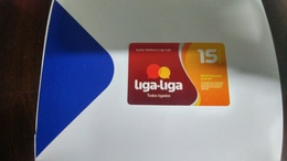 Angola-liga-liga-(39)-(280kwanzas-38.89utt)-mint+1card Prepiad Free - Angola
