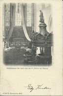 Mol    Middenbeuk Der Kerk Van De H. Petrus En Paulus   -   1900 Naar  Brugge - Mol