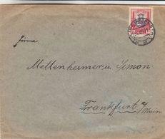 Lituanie - Lettre De 1931 ° - Oblit Klaipeda Pastas - Exp Vers Frankfurt Am Main - Litauen