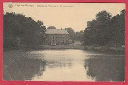 Fayt-lez-Manage - Château De L'Escaille ( J. Charlier - Lechien ) - 1921( Voir Verso ) - Manage