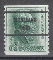 USA Precancel Vorausentwertung Preo, Bureau Ohio, Cleveland 1225-71 - Vereinigte Staaten