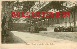 ☺♥♥♥ LE CAIRE - INTERIEUR De La GARE - INTERIOR Of The RAILWAY STATION - CAIRO EGYPT - EGYPTE - Cairo