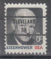 USA Precancel Vorausentwertung Preo, Bureau Ohio, Cleveland 1394-85 - Vereinigte Staaten