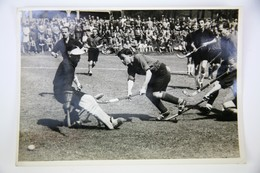 1942 Field Hockey Official Press Photo: German Hockey Championship In Berlin - Hockey - NHL