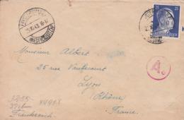 Env. Sans Courrier - Envoyée Du Camp Finsterwald - WW II