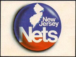 BASKETBALL - NBA - NEW JERSEY NETS - MARCA - STICKER - Basketball - NBA
