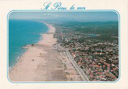Cp , 11 , SAINT-PIERRE-la-MER , La Plage - Other Municipalities