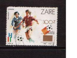 Zaire-1990,(Mi.991),Football, Soccer, Fussball,calcio,Used - 1982 – Espagne