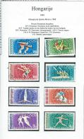 Olympic Games   1968   Magyar   Hungary - Ete 1968: Mexico
