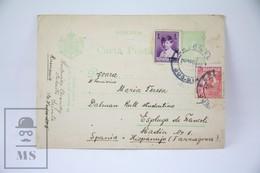 Romania - 1928 Postal Stationary - Posted From Romania To Spain - Enteros Postales