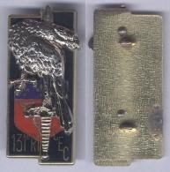 Insigne Du Centre D'Entrainement Commando Du 131e Régiment D'Infanterie - Hueste