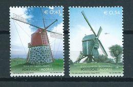 2002 Portugal Azoren Complete Set Windmolens,mühle,moulin,mills MNH/postfris/neuf Sans Charniere - Azoren