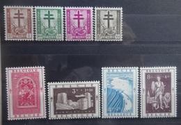 BELGIE 1952    Nr. 900  907     Spoor Van Scharnier *      CW  46,00 - Unused Stamps