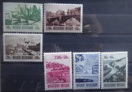 BELGIE 1953    Nr. 918 - 923    Scharnier *     CW 43,00 - Unused Stamps