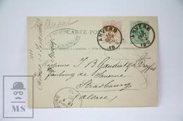Belgium - 1880 Postal Stationary - Anvers/ Antwerp - Enteros Postales