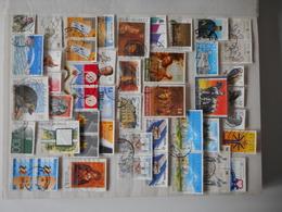 314 ZEGELS GESTEMPELD VANAF 1990 + ALLERLEI - Collezioni