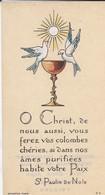 RELIGION---image Pieuse---( Abidjan  1958)--voir 2 Scans - Images Religieuses
