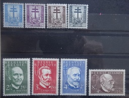 BELGIE 1953    Nr. 930 - 937     Licht Spoor Van Scharnier *   CW 39,00 - Unused Stamps