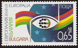 "2003 Bulgarien   Mi. 4586  **MNH  Europäisches Kulturfestival ""Europalia 2003 Italien"", Brüssel - Europese Gedachte"