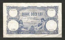 RUMANIA - 20 Lei 1913 Year - D 228 - Romania