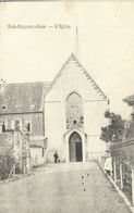 BOIS-SEIGNEUR-ISAAC : L'Eglise - Cachet Dee La Poste 1908 - RARE VARIANTE - Braine-l'Alleud