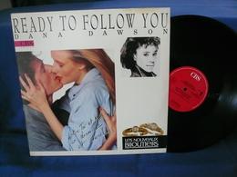 "DANA DAWSON Maxi 45t Ready To Follow You ""Pub Les Nouveaux Bijoutiers"" Promo - 45 Rpm - Maxi-Single"
