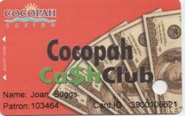 Carte De Membre : Cocopah Casino USA - Cartes De Casino