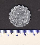 Monnaie Necessité Marseille (13) Bouches Du Rhone  .. 10c Chambre De Commerce 1921 Aluminium - Monetary / Of Necessity